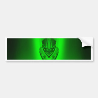 SHADOW DUCK GRUNGEGREEN BLACK BUMPER STICKER