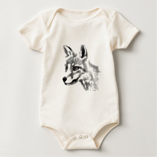 Shadow Fox Baby Bodysuit