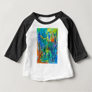 Shadow Heron Baby T-Shirt