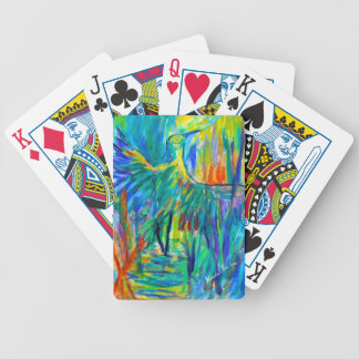Shadow Heron Bicycle Playing Cards