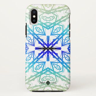 Shadow Looking Glass Cross ( Rainbow ) iPhone X Case