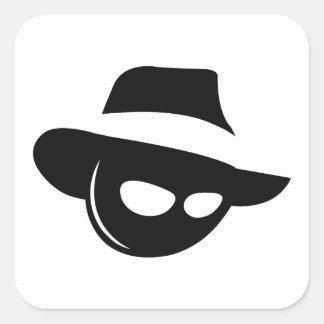 Shadow Mafia Square Sticker