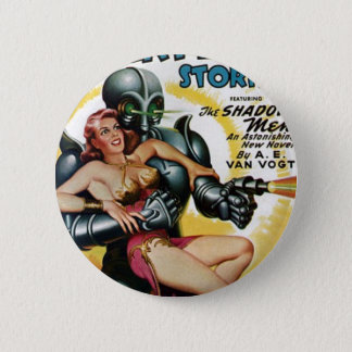 Shadow Men from Space 6 Cm Round Badge