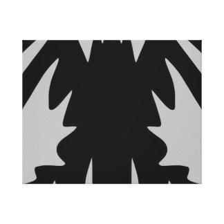 Shadow - Monochrome Canvas Print
