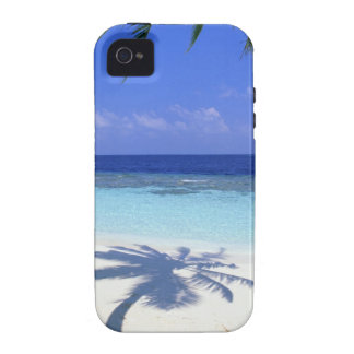 Shadow of Palm Tree Vibe iPhone 4 Cases