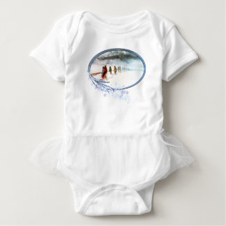 Shadow of the Owl on the Trail of Tears Baby Bodysuit