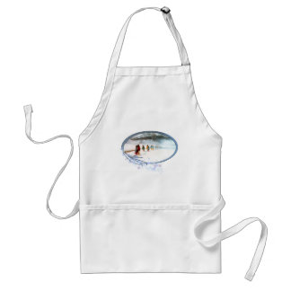 Shadow of the Owl on the Trail of Tears Standard Apron