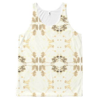 Shadow pattern All-Over print singlet