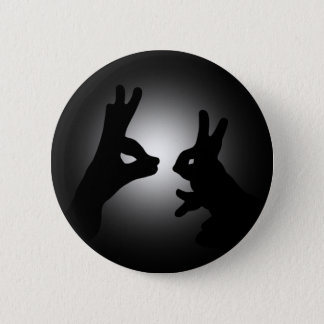 Shadow Puppets 6 Cm Round Badge