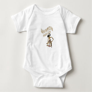 Shadow Puppets Bima Indonesian culture Baby Bodysuit