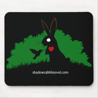 Shadow Rabbit Mouse Pad Design 1