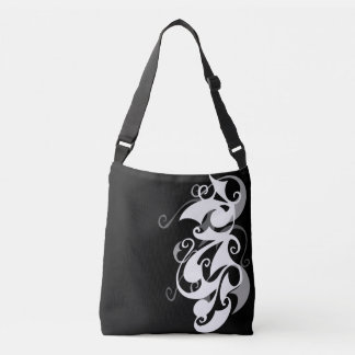 Shadow Swirl Cross Body Bag