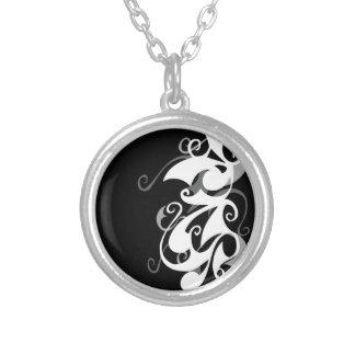 Shadow Swirl Necklace