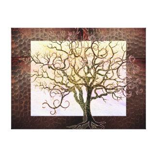Shadow Tree Canvas Print