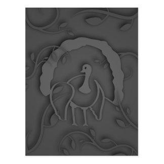 Shadow Turkey Noir Postcard