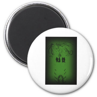 Shadow Walkers 6 Cm Round Magnet