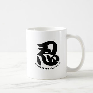 Shadow Warrior Bujinkan Dojo Logo wiith Nin Symbol Coffee Mug