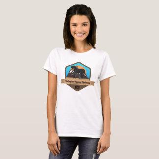 Shadowed Animals Hoofbeats and Pawprints T-Shirt
