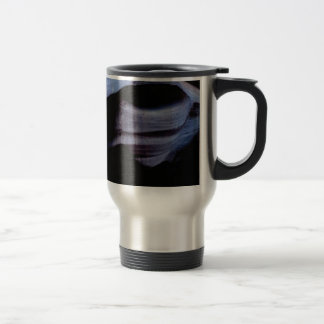 shadows in the rock wall travel mug