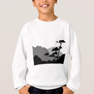 Shadows Of A Zen Landscape Sweatshirt