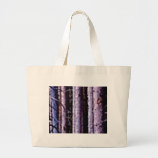 shadows of pole woods large tote bag