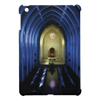 shadows of the dark blue church iPad mini cover