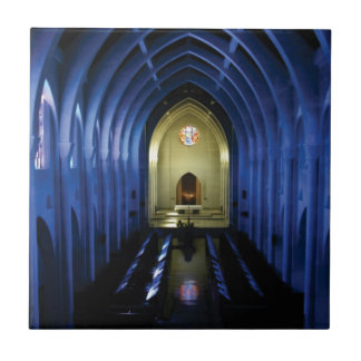 shadows of the dark blue church tile