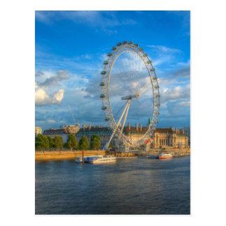 Shadows of the London Eye Postcard
