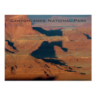Shadows on the rock postcard