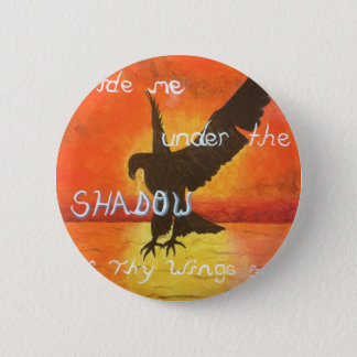 shadowwings 6 cm round badge