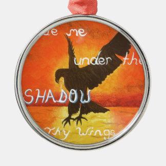 shadowwings metal ornament