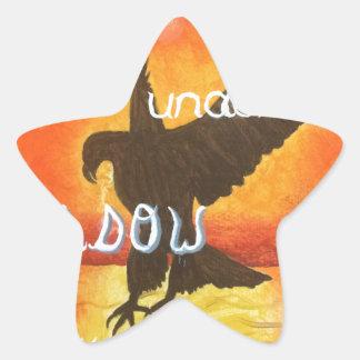 shadowwings star sticker