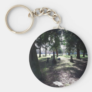 Shadowy Cemetery Key Ring