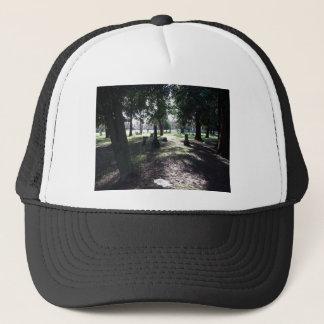Shadowy Cemetery Trucker Hat