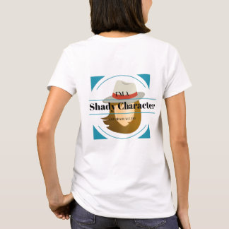 Shady Character Mystery Woman T-Shirt