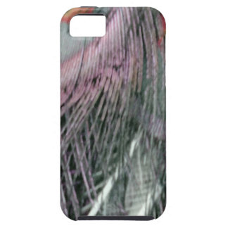 Shady Gray Past Peacock iPhone 5 Case