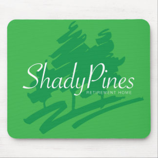 Shady Pines Retirement Home Mousepad