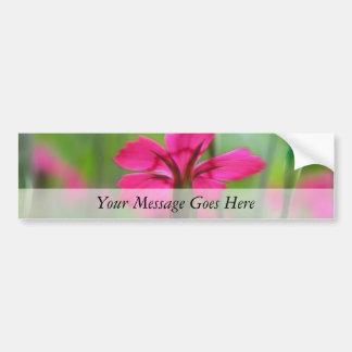 Shady Woodland Dianthus Bumper Sticker