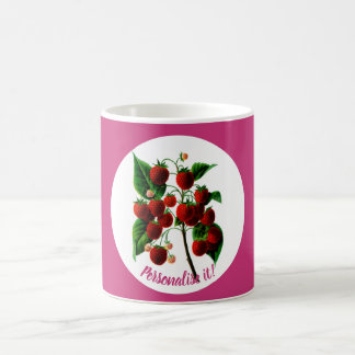 Shafer's colossal raspberries coffee mug