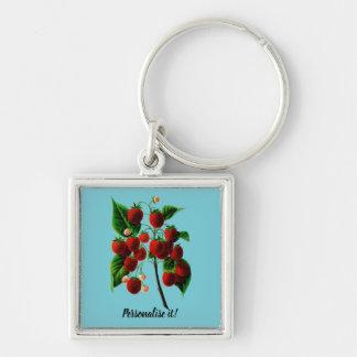 Shafer's colossal raspberries key ring
