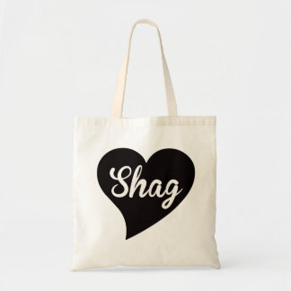 Shag Big Heart Jade Tote Bag
