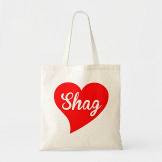 Shag Big Heart Tote Bag