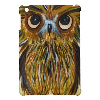 Shaggy owl big eyed wildlife iPad mini covers
