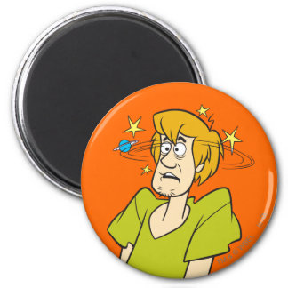 Shaggy Pose 04 6 Cm Round Magnet