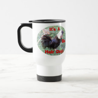 Shaggy Rooster Travel Mug