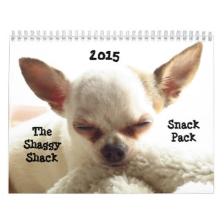 Shaggy Shack Snack Pack 2015 Calendar