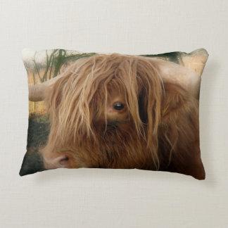 Shaggy Yak Decorative Cushion