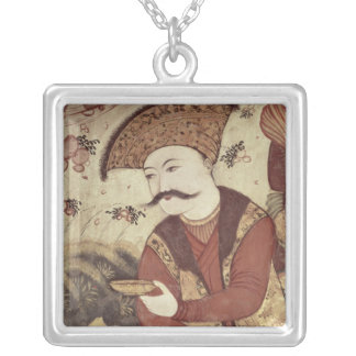 Shah Abbas I Silver Plated Necklace