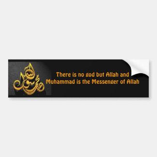 Shahadah Bumper Sticker (English)
