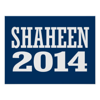 SHAHEEN 2014 POSTERS